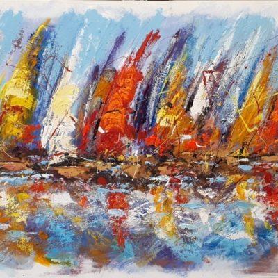 Adelio Bonacina - Come bandierine colorate