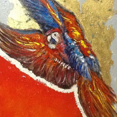 Adelio Bonacina - Voglia di libertà 50x70 acril su tela