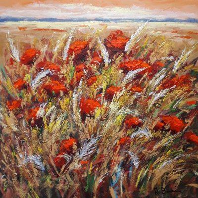 Adelio Bonacina - Macchie rosse nel grano