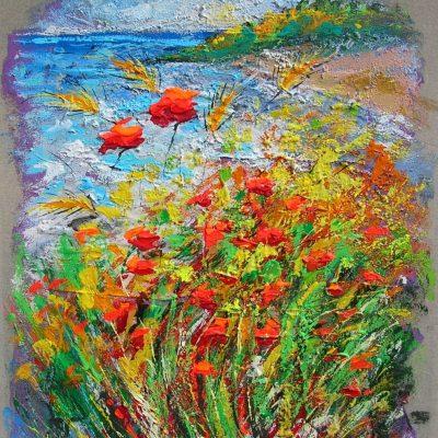Adelio Bonacina - Pure l'erba si tinge di colore